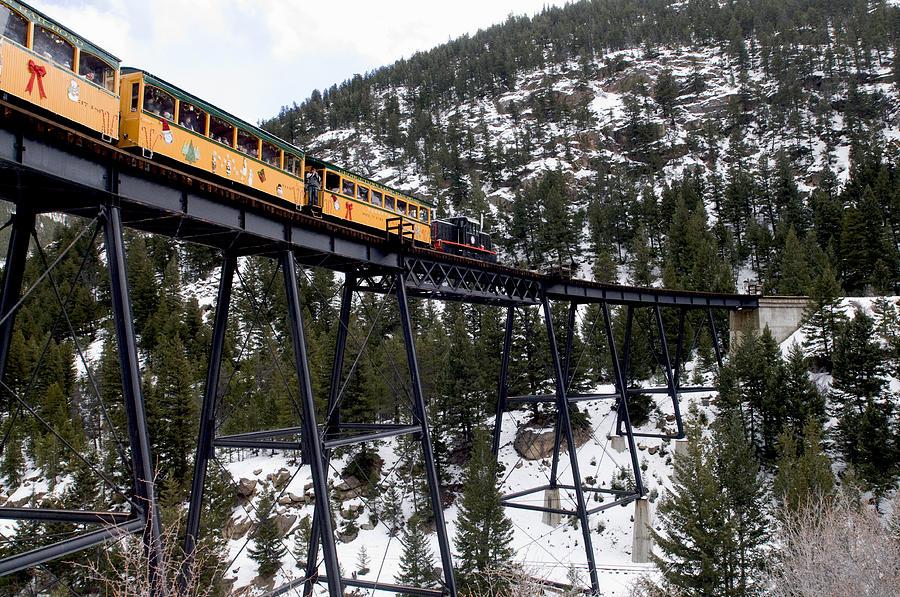 Georgetown Loop Railroad Photograph By Steven Faucette