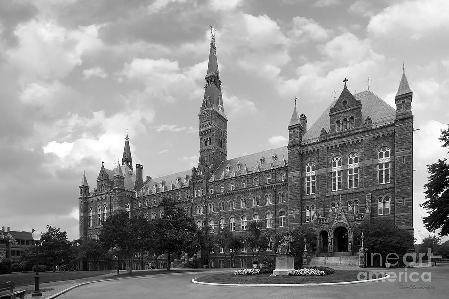 Georgetown University Healy Hall Photograph  - Georgetown University Healy Hall Fine Art Print