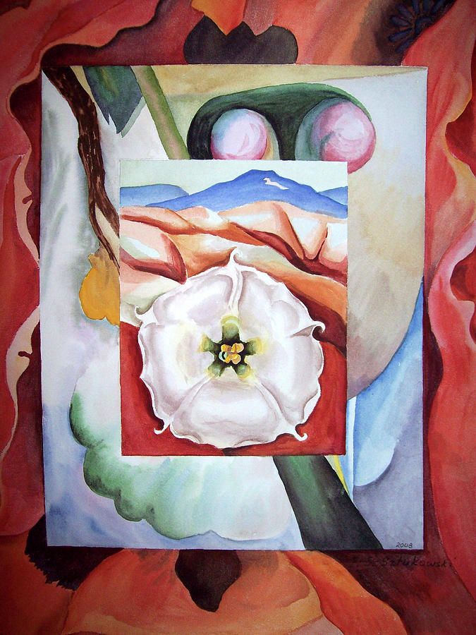 Georgia On My Mind IIi Painting