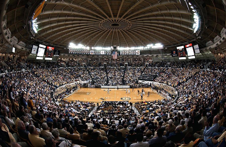 Georgia Tech Yellow Jackets Alexander Memorial Coliseum Photograph