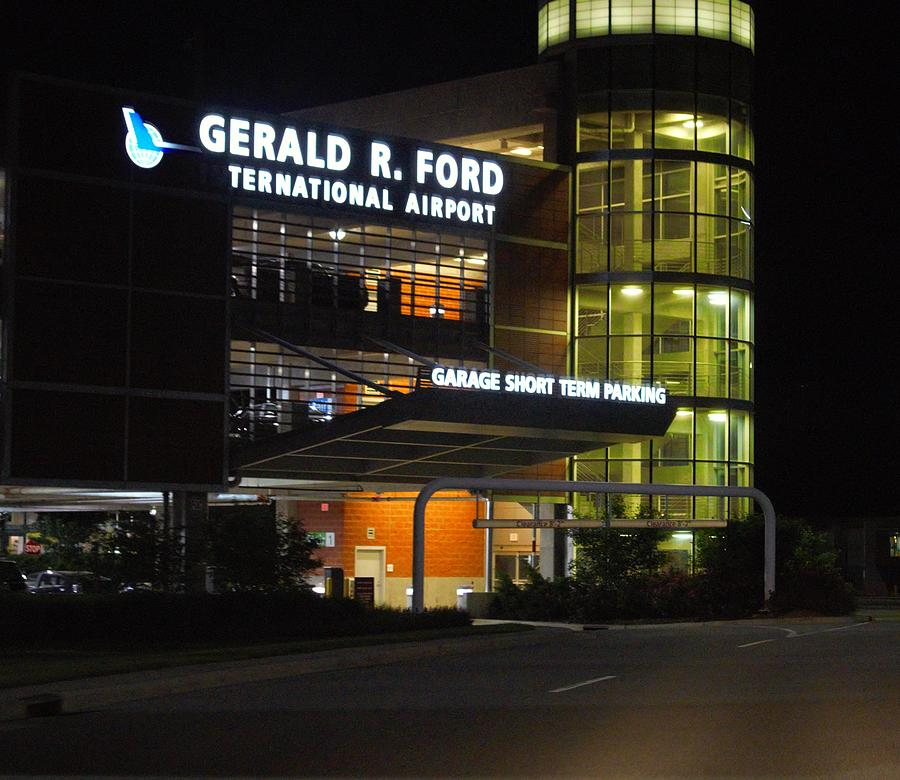 Gerald R Ford Airport Photograph By Rosemarie E Seppala