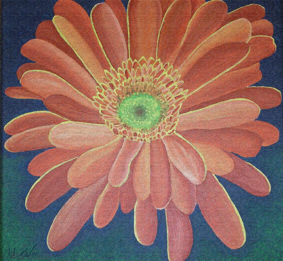 Flora Painting - Gerbera by Megan Washington