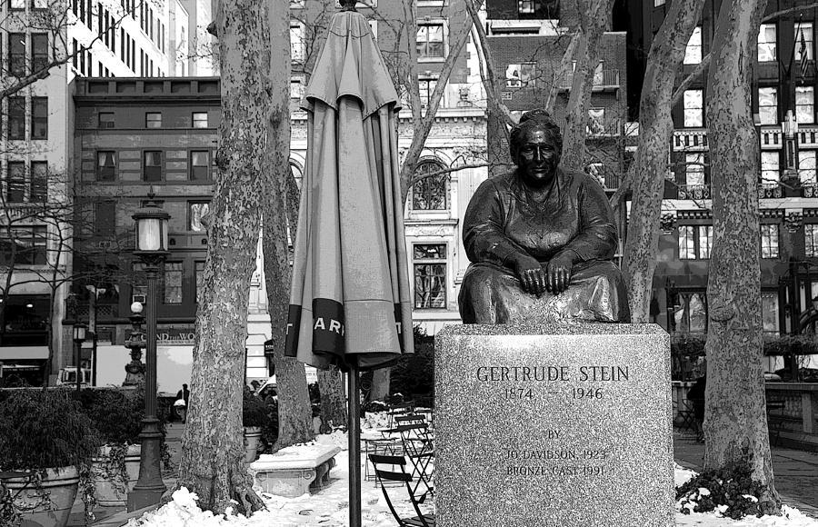 Gertrude Stein Photograph