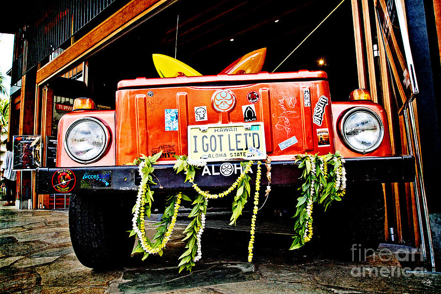 Sign Photograph - Get Leid by Scott Pellegrin