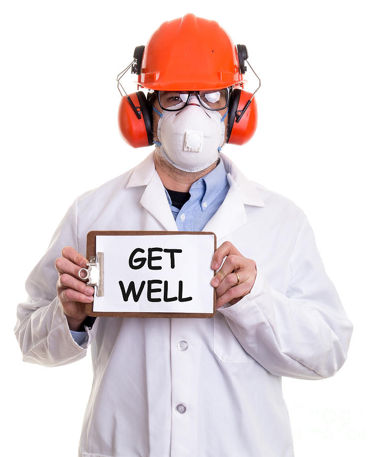 Get Well Photograph  - Get Well Fine Art Print