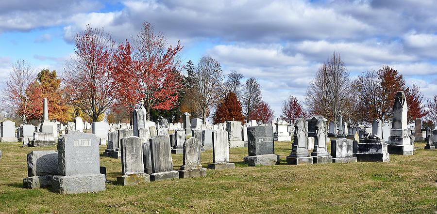 Gettysburg National Cemetery Photograph