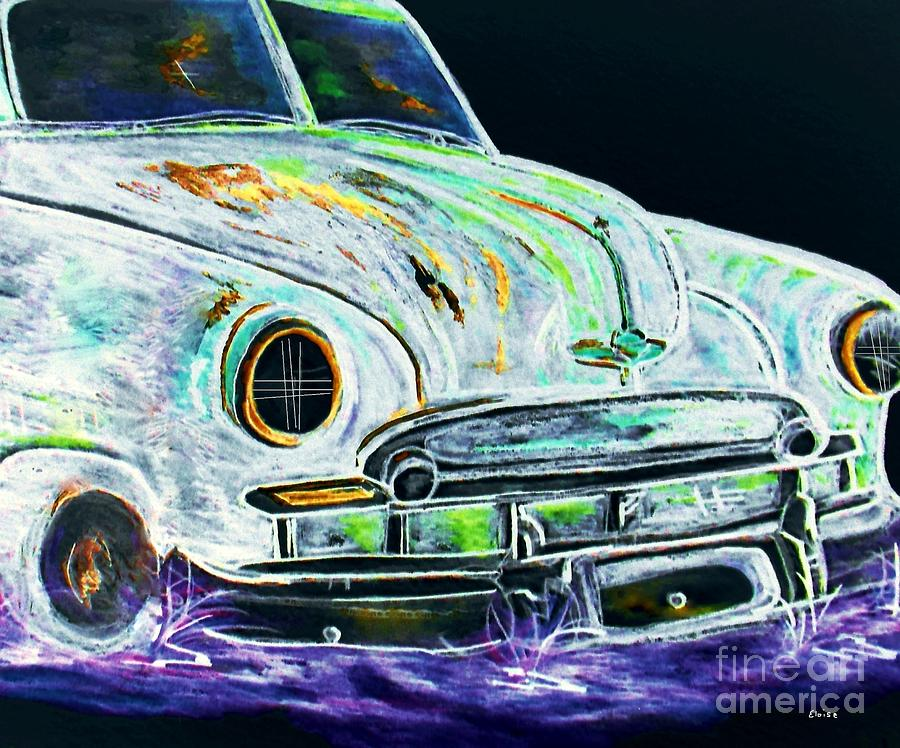 Ghost Car Painting