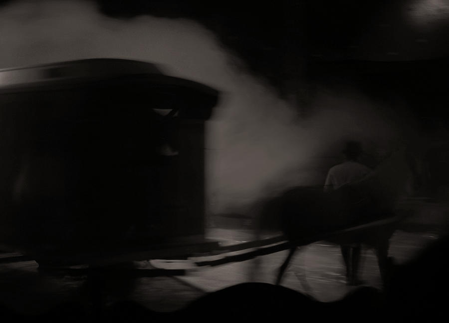 Ghost Carriage Photograph
