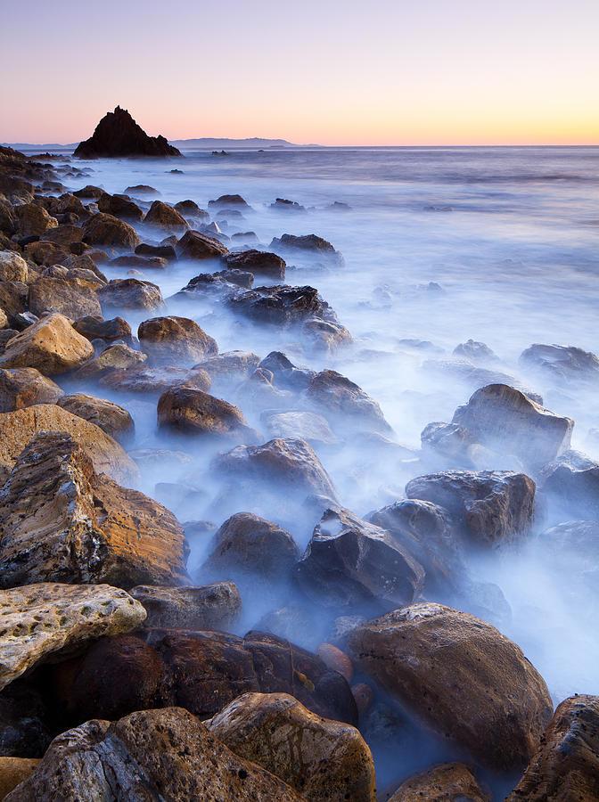 Pescadero Trail Photograph - Ghost Coast  by Adam Pender