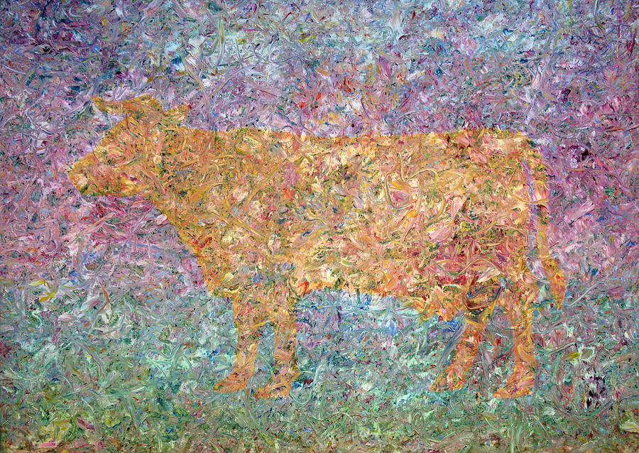 Ghost Of A Cow Painting