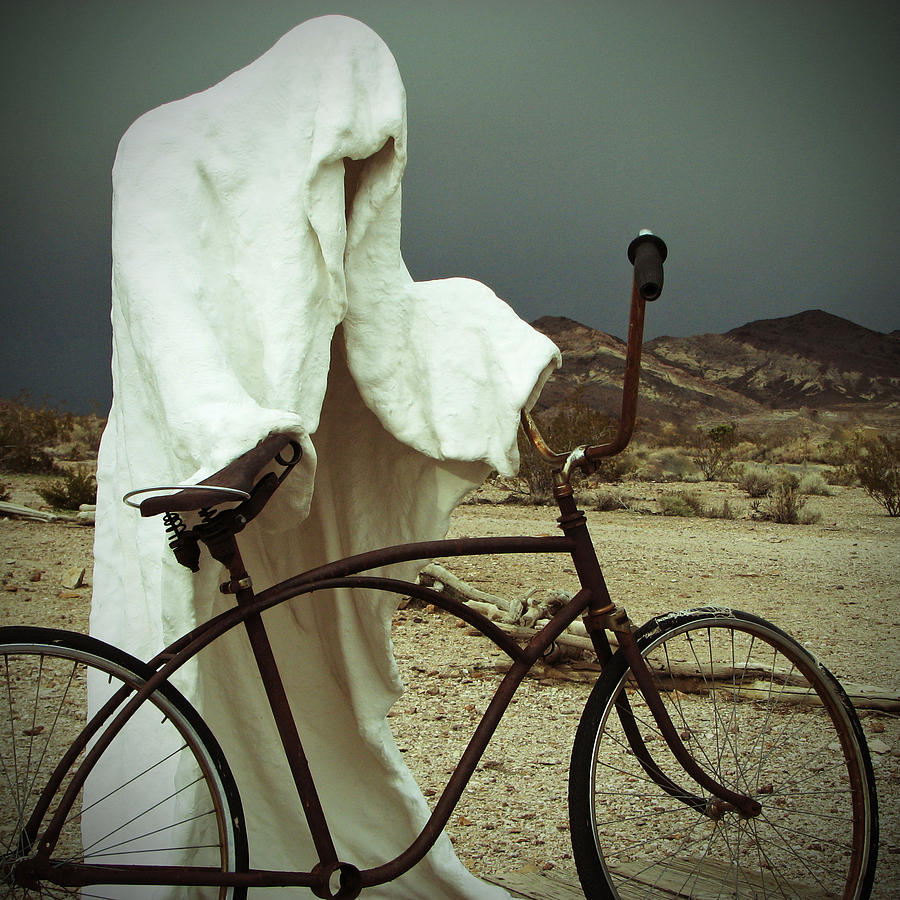Bike Photograph - Ghost Rider by Marcia Socolik