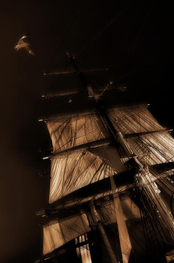 Ghost Ship Photograph