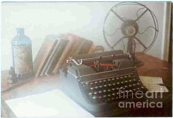 Writers Greeting Cards Photograph - Ghost Writer by Michael Hoard