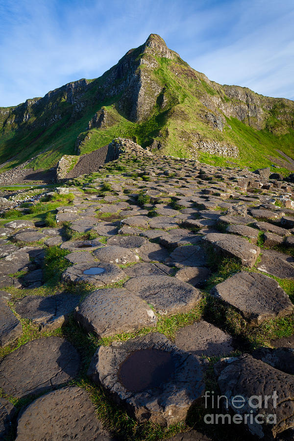 Giants Causeway Green Peak Photograph
