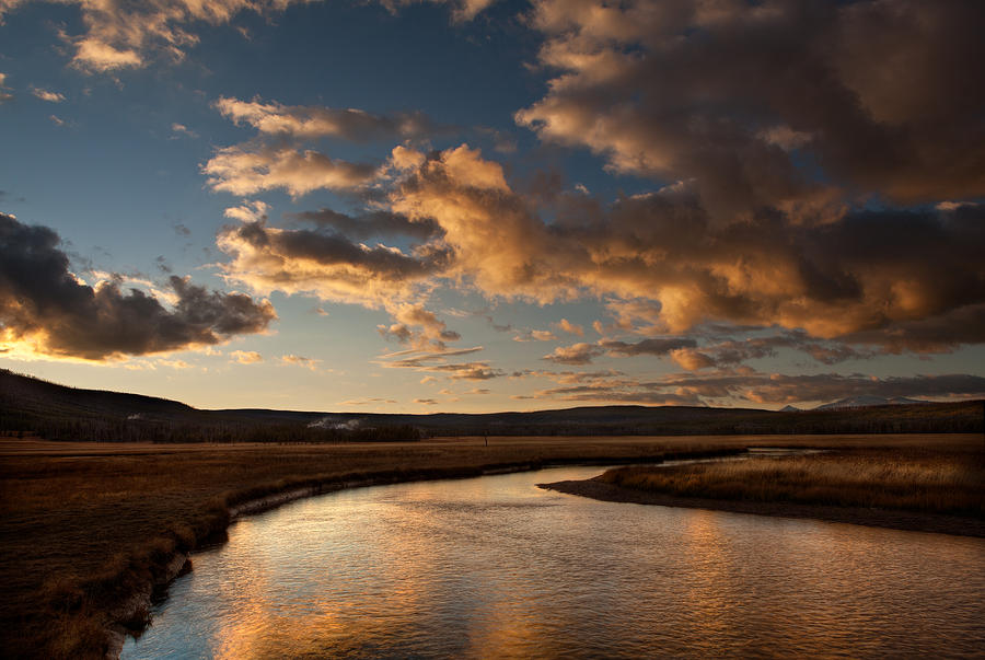 Gibbon River Yellowstone Photograph