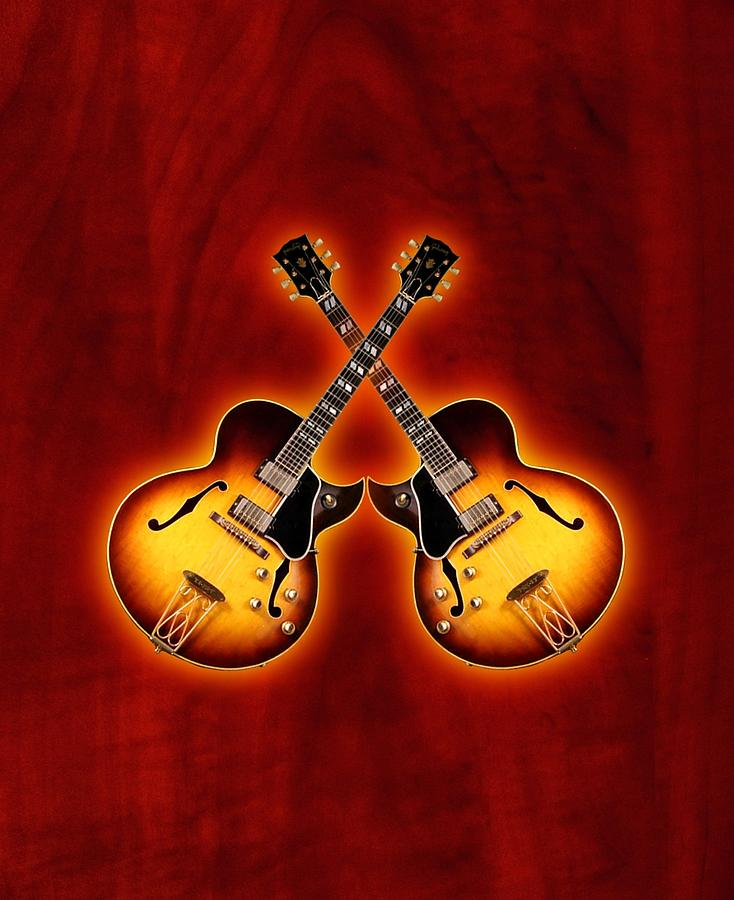 Gibson Jazz Digital Art