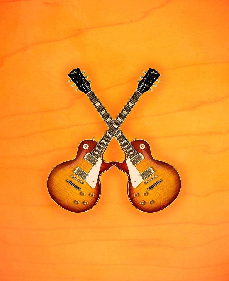 Gibson Les Paul Standart   Digital Art
