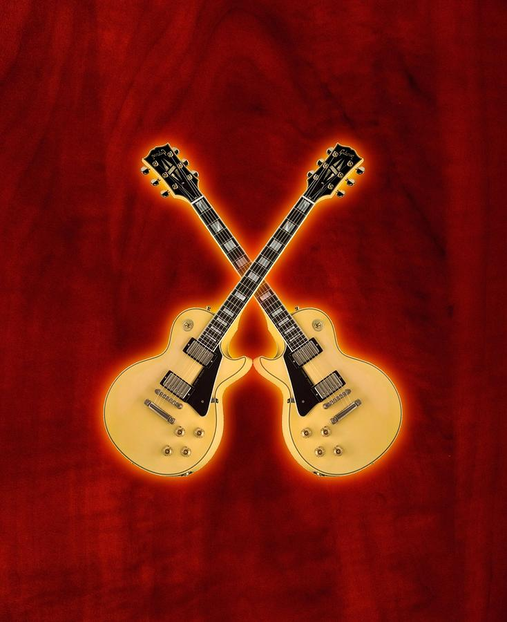 Gibson Randy Rhoads Les Paul Custom Digital Art
