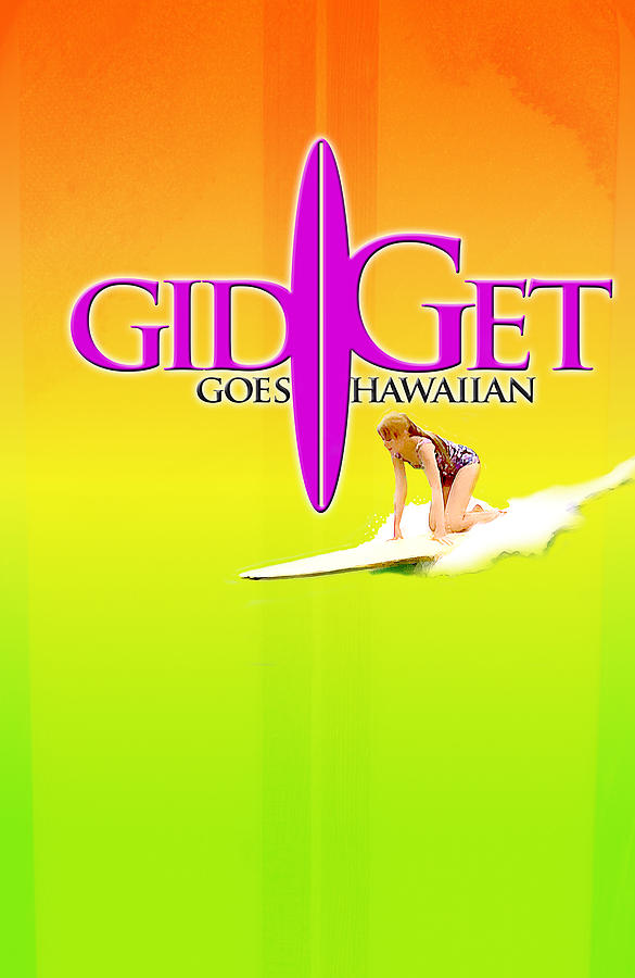 Gidget Goes Hawaiian Digital Art