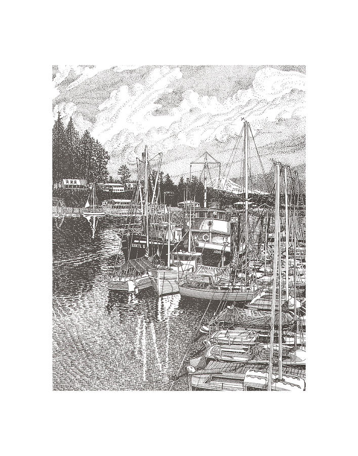 Gig Harbor Entrance Drawing