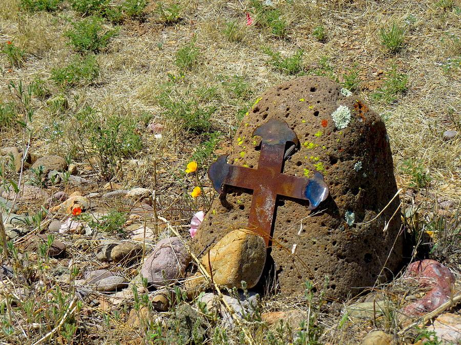 Gila Grave Photograph