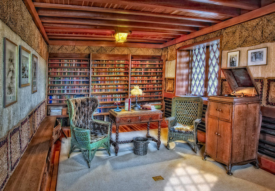 Gillette Castle Library Photograph