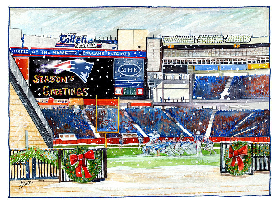Gillette Holidays Painting