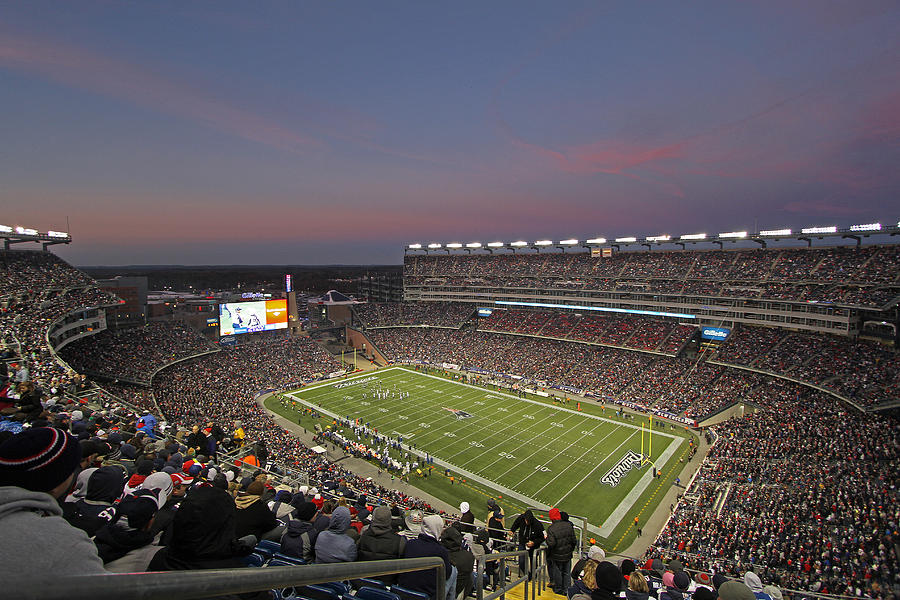 Gillette Stadium In Foxboro Photograph