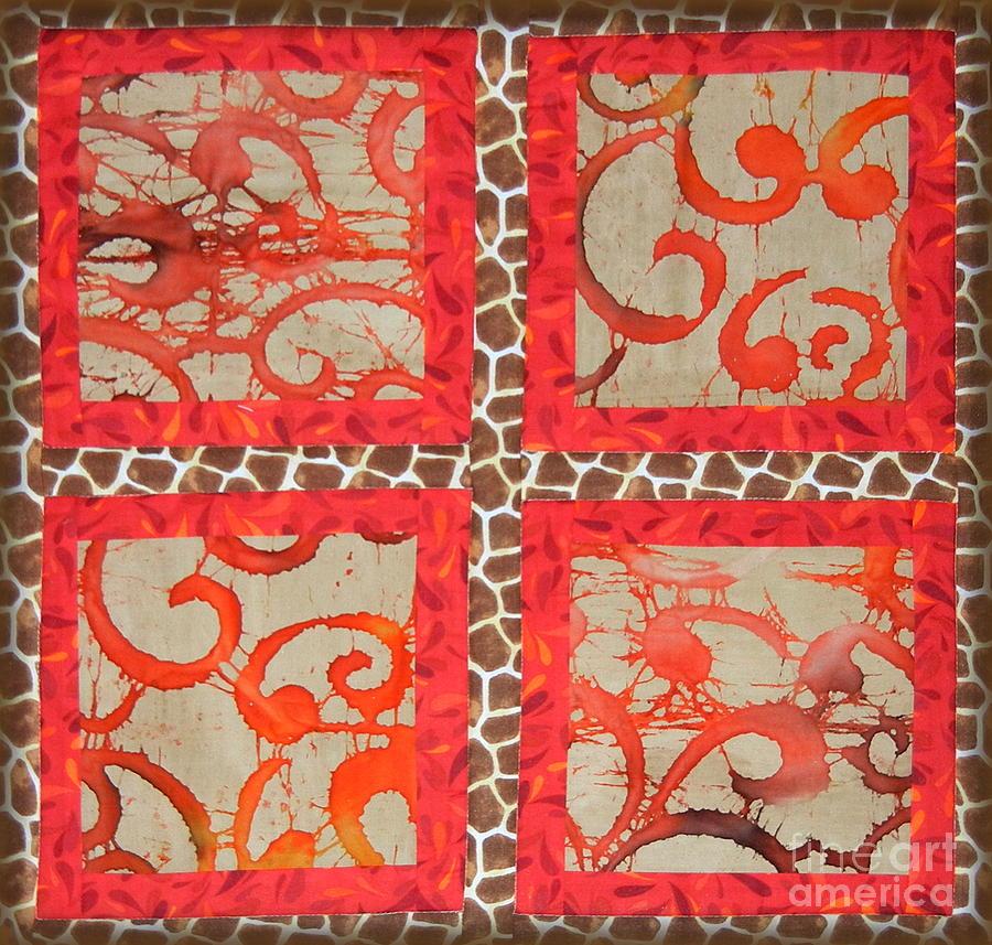 Giraffe Print Tapestry - Textile