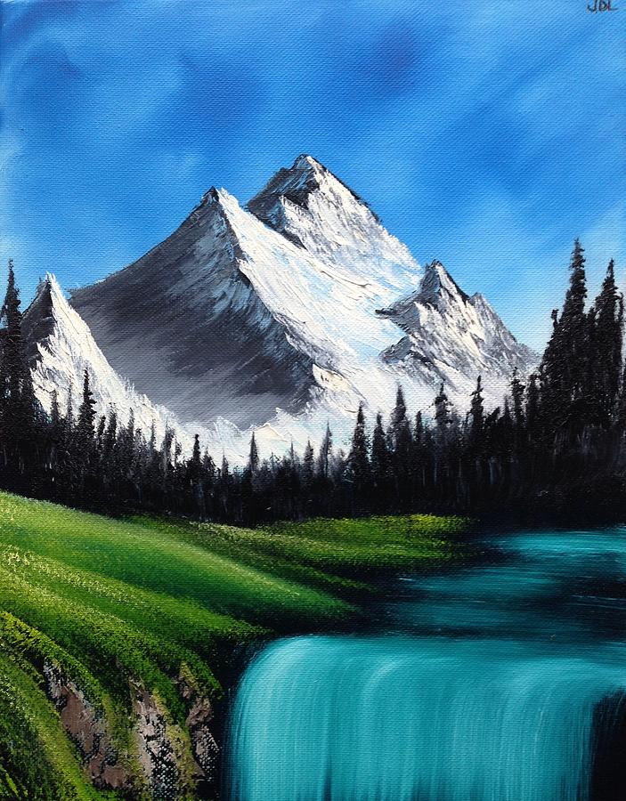 Glacier Peak Painting