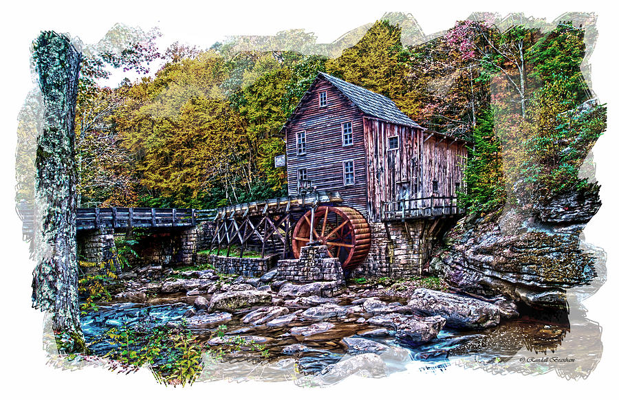 Glade Creek Grist Mill Photograph