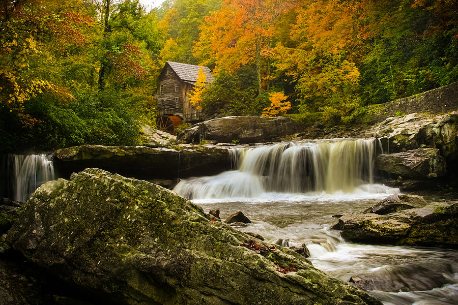 Glade Creek Photograph - Glade Creek Grist Mill by Shane Holsclaw