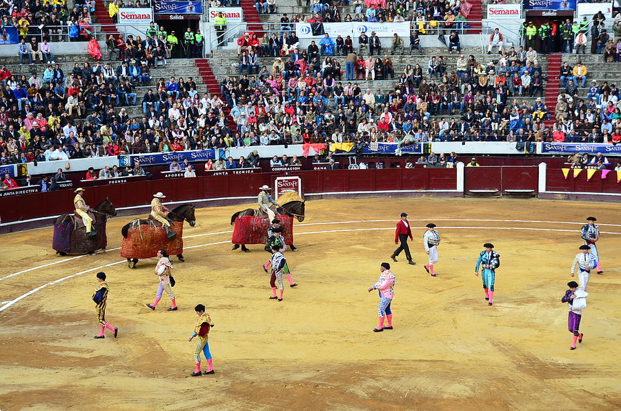 Glamour In The Bullfight Photograph