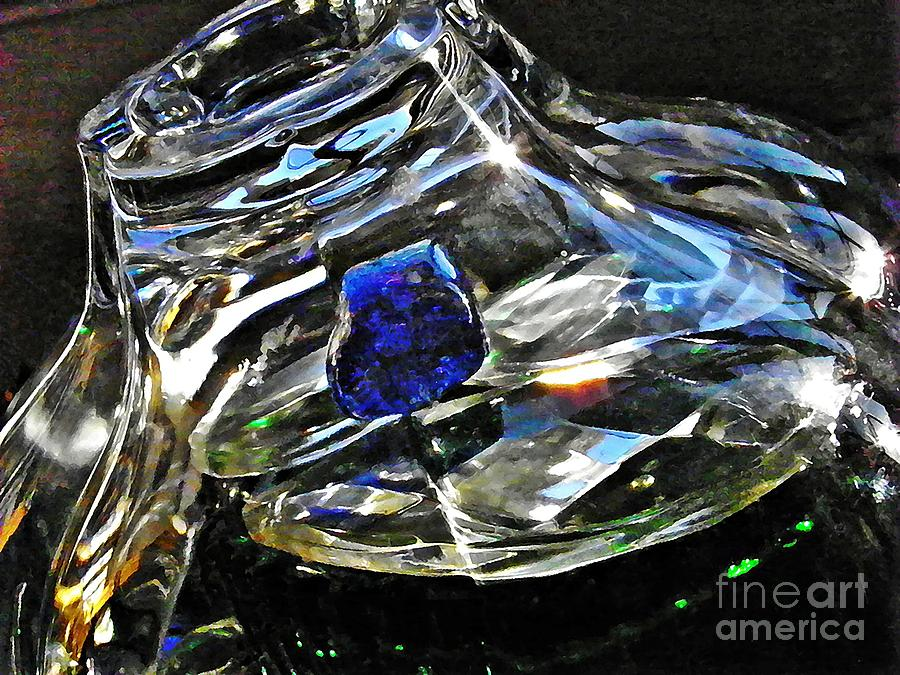 Glass Abstract 136 Photograph  - Glass Abstract 136 Fine Art Print