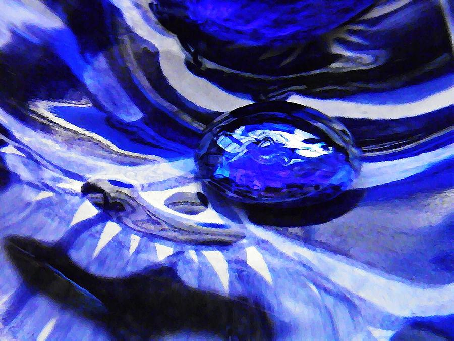Glass Abstract 342 Photograph