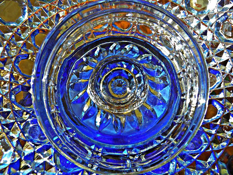 Glass Abstract 591 Photograph  - Glass Abstract 591 Fine Art Print