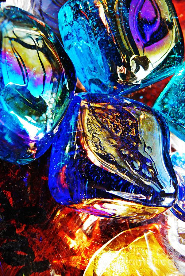 Glass Abstract 687 Photograph
