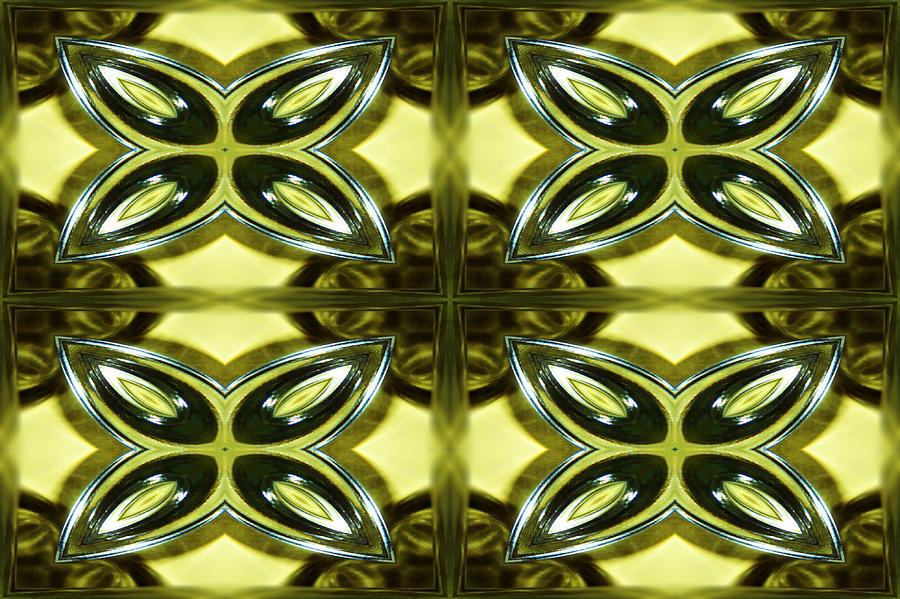 Glass Photographs Glass Art - Glass Art 01 by Ester  Rogers