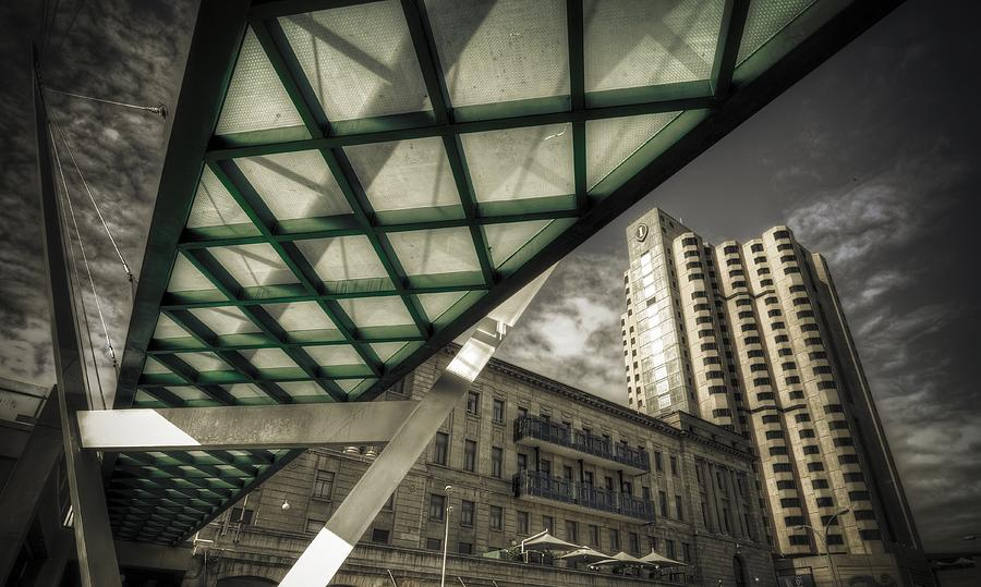 Glass Bridge Photograph  - Glass Bridge Fine Art Print