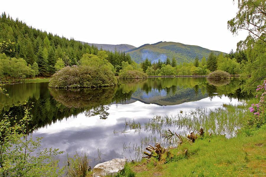 Glencoe Lochan Reflection Photograph
