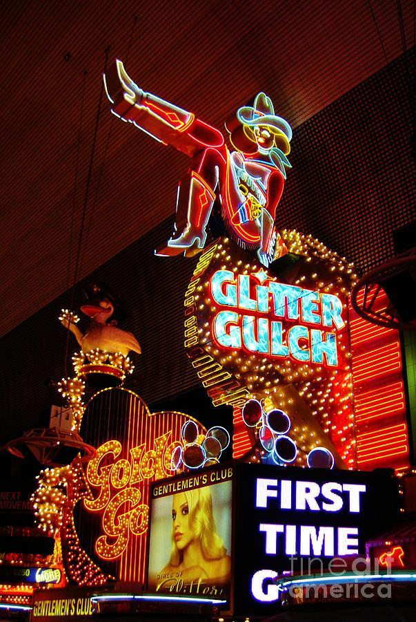 Glitter Gulch Photograph