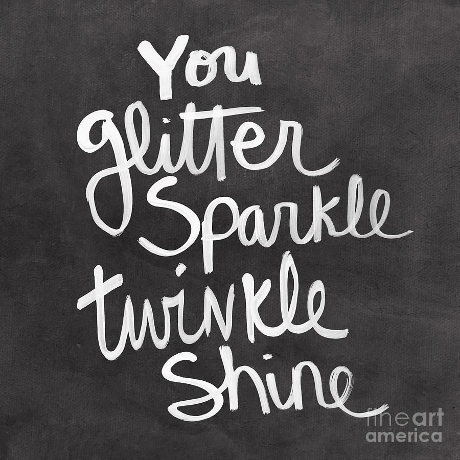 Glitter Sparkle Twinkle Mixed Media