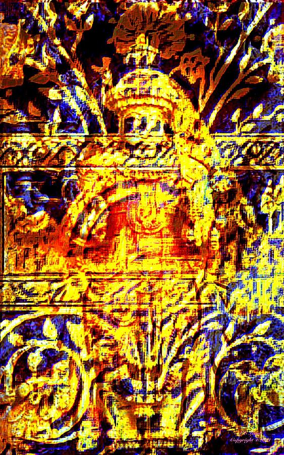 Art Painting - Glorious Gold by Larry Lamb