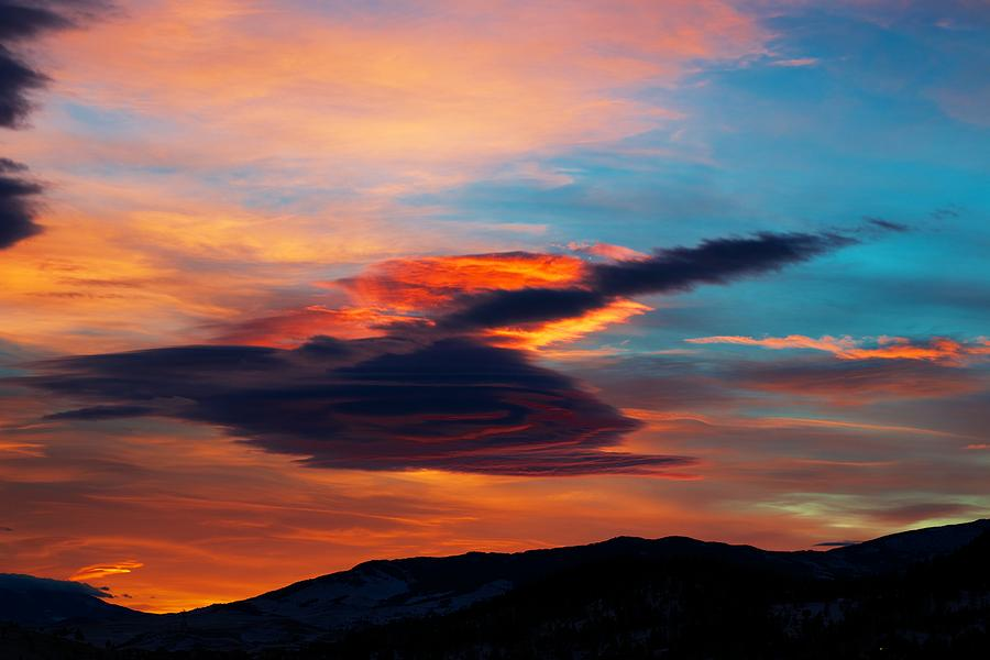 Sunset Photograph - Glorious Morning- Helena Mt by Kevin Bone