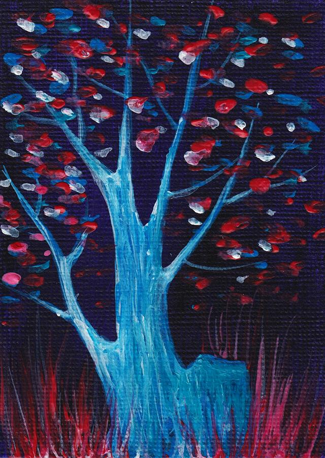 Glowing Night Painting  - Glowing Night Fine Art Print