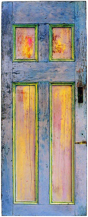 Glowing Through Door Painting