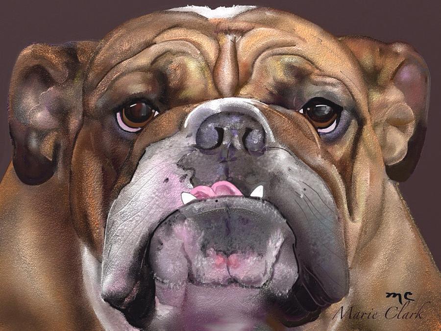 Go Bulldogs Painting