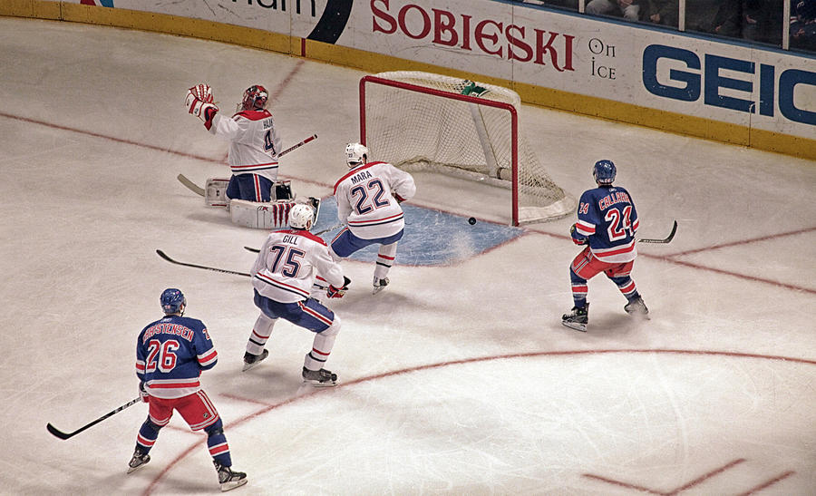 Hockey Photograph - Goal by Karol Livote