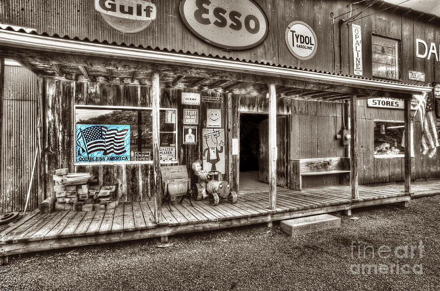 Store Photograph - God Bless America by Dan Friend