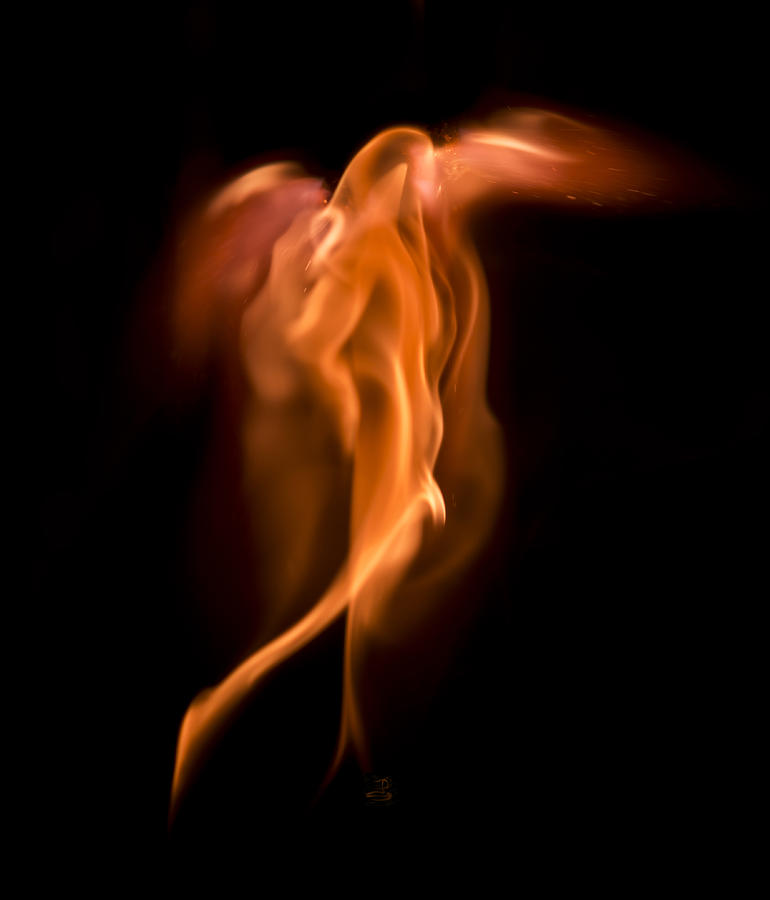 God Of Fire Photograph  - God Of Fire Fine Art Print